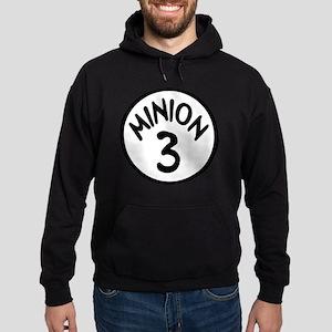 Minion 3 Three Children Hoodie (dark)