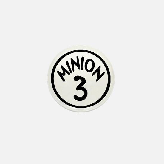 Minion 3 Three Children Mini Button