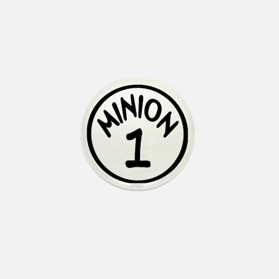 Minion 1 One Children Mini Button