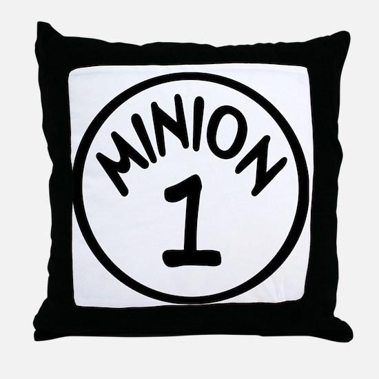 Minion 1 One Children Throw Pillow