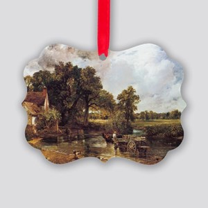 The Hay Wain Picture Ornament