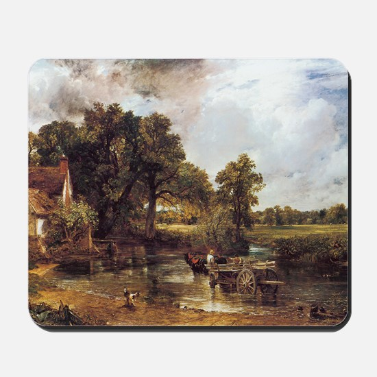The Hay Wain Mousepad
