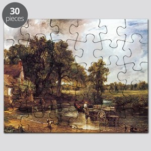 The Hay Wain Puzzle