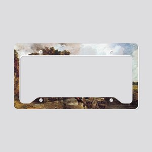 The Hay Wain License Plate Holder