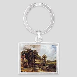 The Hay Wain Landscape Keychain