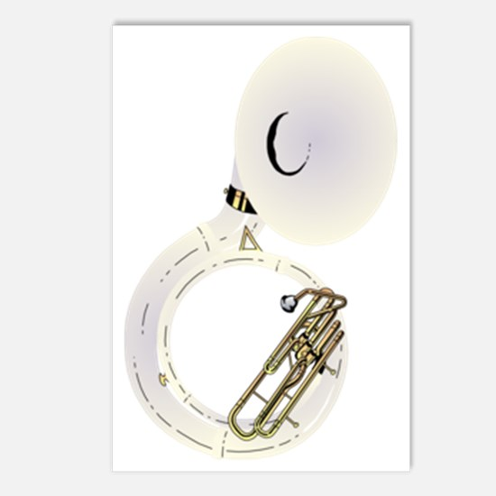 sousaphone-2 Postcards (Package of 8)
