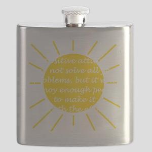 Positive Attitude Flask