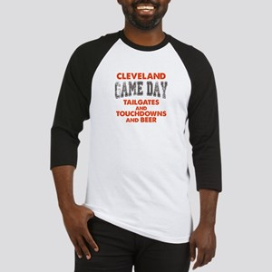 Cleveland Game Day Football Fan Baseball Tee