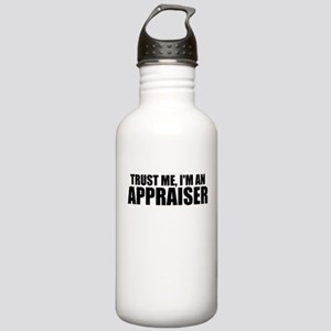 Trust Me, I'm An Appraiser Water Bottle