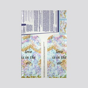 Love Is In The Air Oven Mitt Orna Rectangle Magnet