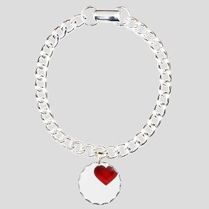 I Heart Cypress Island Charm Bracelet, One Charm