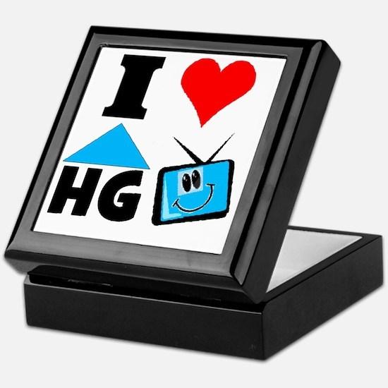 I Love HGTV Keepsake Box