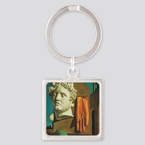 The Song of Love Square Keychain