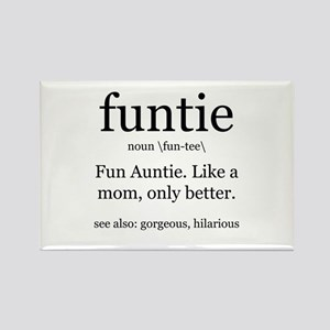 fun auntie definition Magnets
