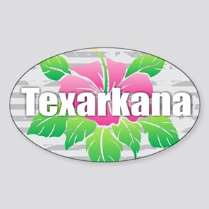 Texarkana Hibiscus Sticker