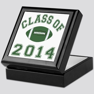 Class Of 2014 Football Keepsake Box