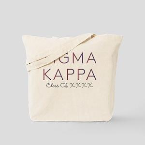 Sigma Kappa Class Tote Bag