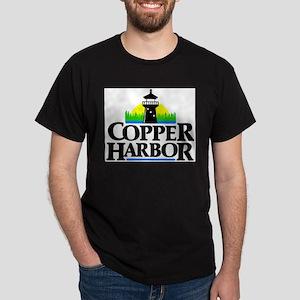 Copper Harbor Ash Grey T-Shirt