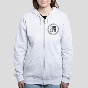 Sigma Kappa Arrows Women's Zip Hoodie