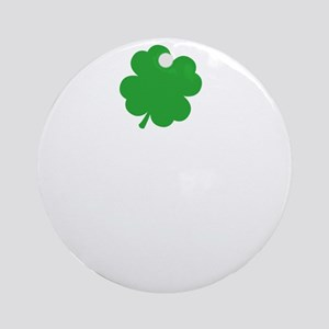 whosPaddy2B Round Ornament