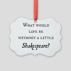 Shakespeare! Picture Ornament