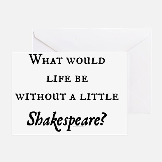 Shakespeare! Greeting Card