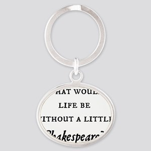 Shakespeare! Oval Keychain