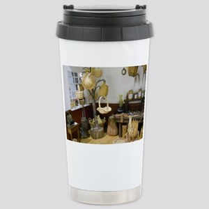 Basket Buying Doll Hous Stainless Steel Travel Mug