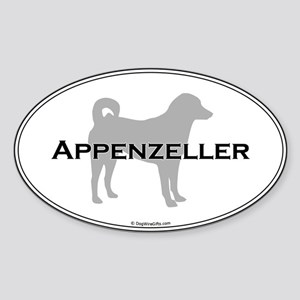 Appenzeller Oval Sticker