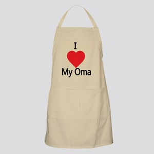 I love my Oma Apron