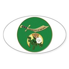 Daughters of the Nile Sticker (Oval)