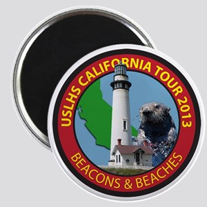 Lighthouses of Southern and Central Califor Magnet