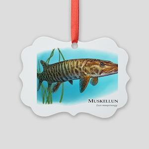 Muskellunge Picture Ornament