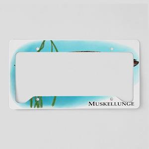Muskellunge License Plate Holder