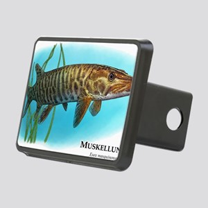 Muskellunge Rectangular Hitch Cover