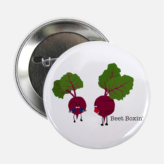 Beet Boxin' 2.25 In. Button