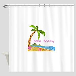 Feeling Beachy Shower Curtain