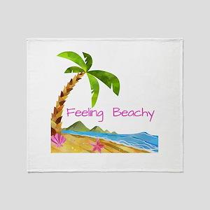 Feeling Beachy Throw Blanket