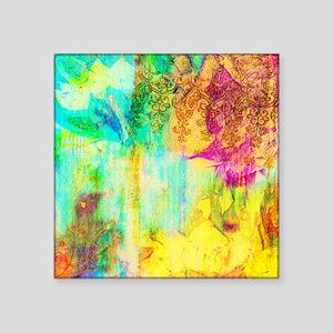 """Colorful Square Sticker 3"""" x 3"""""""
