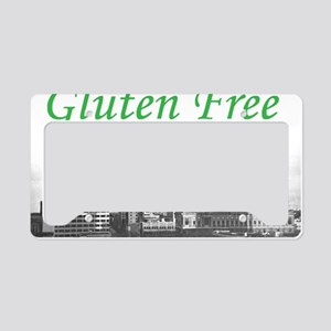 Gluten Free Fort Wayne License Plate Holder