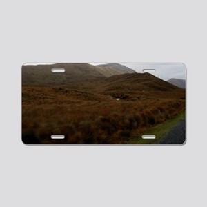 Misty Hills of Connemara Aluminum License Plate