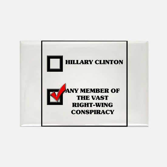Hillary Clinton VRWC Rectangle Magnet