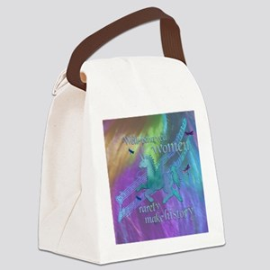 Well-behaved Unicorn Canvas Lunch Bag