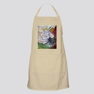 Rainbow Quartz Apron