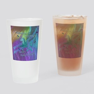 Well-behaved Unicorn Drinking Glass
