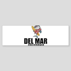 Del Mar, California Bumper Sticker
