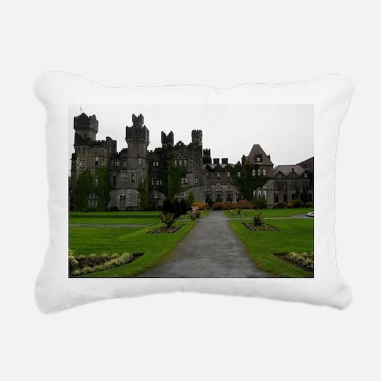 Ashford Castle, Galway,  Rectangular Canvas Pillow