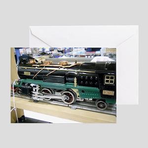 Train Engine Greeting Card