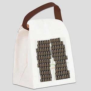 Tuba Flip Flop Canvas Lunch Bag