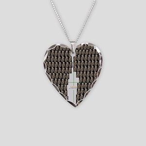 Tuba Flip Flop Necklace Heart Charm
